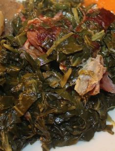 How to Cook Collard Greens the Southern Way- How to cook collard greens is a very serious topic in the South, it has to be done correctly.