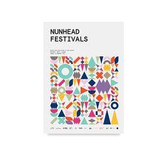 Nunhead Festivals on Behance Graphic Design Branding, Logo Design, Behance, Online Portfolio, East London, Print Templates, Colour Schemes, Graphic Design Inspiration, Visual Identity