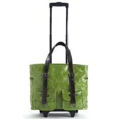 Shiraleah Handbags: Harper roller tote - Leaf