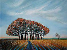 Dorset Lanscape Painting - Giant's Head near Cerne Abbas - Annie Taylor Contemporary Landscape, Landscape Art, Contemporary Artists, Landscape Paintings, Landscapes, Tree Paintings, English Artists, Artwork Images, Nature
