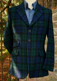 Bookster Tailoring - Blackwatch Harris Tweed Jacket