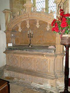 White Lackington, Sir George Speke - mentions his tomb is ready prepared in his will of 1583, but Pevsner believes the monument must be at least 25 years earlier.