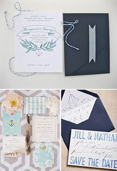 soft and watery nautical design