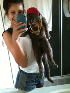 These thugs. | The 49 Most WTF Pictures Of People Posing WithAnimals