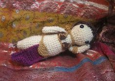 Slave Leia Free Crochet Pattern--OH MY!! Fn AWESOME!!!