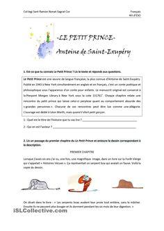 Activité: Le Petit Prince