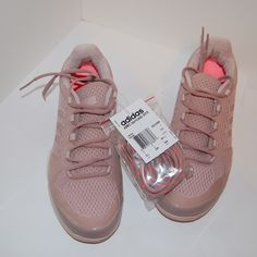 Adidas by Stella McCartney tennis shoe NWT. Includes box. Light pink Stella McCartney sneakers. Rare shoe. Super cute. Size 8.5. Price is firm. Adidas by Stella McCartney Shoes Athletic Shoes