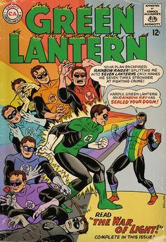 Rainbow Raider vs Green Lantern