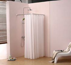 Semi Circle Shower Curtain Rod Eyelet Ideas Round Good 24