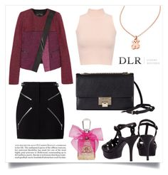 """""""DLRBOUTIQUE.COM"""" by mahafromkailash ❤ liked on Polyvore featuring Alexander Wang, Proenza Schouler, Yves Saint Laurent, Jimmy Choo, WearAll, TOUS, Juicy Couture, dlr and dlrboutique"""