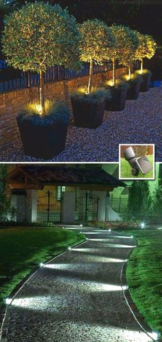 21 Outdoor Lighting Ideas for a Shabby Chic Garden. Number 6 is My Favorite – Lisa Ivy 21 Outdoor Lighting Ideas for a Shabby Chic Garden. Number 6 is My Favorite this outdoor lighting idea puts the dynamism in your shabby chic garden Backyard Lighting, Deck Lighting, Garden Lighting Ideas, Sidewalk Lighting, Driveway Lighting, Modern Lighting, House Lighting, Exterior Lighting, Lighting For Gardens