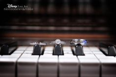 A perfect ring shot for just about any music lover #wedding #Disney