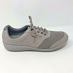 10d295df71f Clarks Cloud Steppers Women Size 9.5W Lilac Sillian Emma Lace Up Comfort  Sneaker  Clarks
