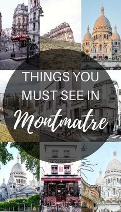 cobblestone alleys, cute little eateries left, right and center and real vintage stores. A quick guide to visiting Montmartre, Paris, France. Disneyland Paris, The Places Youll Go, Places To Go, Oh Paris, Paris Itinerary, Paris Travel Guide, Triomphe, Voyage Europe, Belle Villa