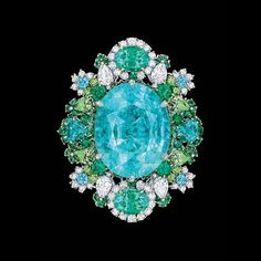 H & D Diamonds is your direct contact to diamond trade suppliers, a Bond Street jeweller and a team of designers.www.handddiamonds... Tel: 0845 600 5557 - Tourmaline King: Paraiba magnificent treasure - Dior