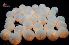 35 BaumwolleBallSet deiner einzigen Farbe Cotton Ball von zecotton, $16,50