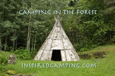 camping-in-the-New-Forest---tipi-teepee-camping