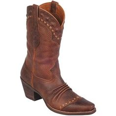 Ariat Women's Dixie Western Boots Just bought these! SO comfy. Now on a mission to make sure they are styled boho & not rodeo...