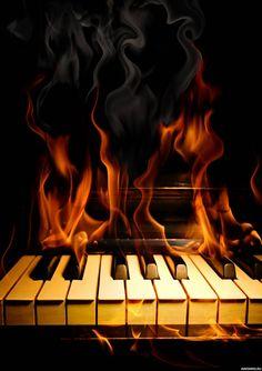 #Огонь, #Музыка, #аватары, #картинки, #фотки, #арт, https://avatarko.ru/kartinka/1624