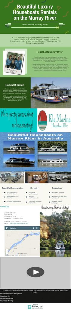 Beautiful Luxury Houseboats Rentals on the Murray River