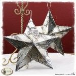 Tammy Tutterow Tuesday Tutorial: Riveted Metal 3D Stars