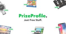 New prizes every day, enter competitions in one click. Get stuff for FREE!