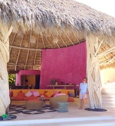 Less than three hours after leaving LAX, my boyfriend, Eric, and I were lounging under a heavenly palapa in Costa Careyes, Mexico. Set between Puerto Vallarta and Manzanillo, the town was founded by Gian Franco Brignone, an eccentric Italian-born financier and artist, in the late 1960s, and is still a favorite of many designers and celebrities.