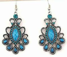 Hey, I found this really awesome Etsy listing at https://www.etsy.com/listing/195503460/silver-exquisite-blue-beaded-and