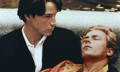 Keanu Reeves and River Phoenix in Gus van Sant's My Own Private Idaho. [20 years River gone]