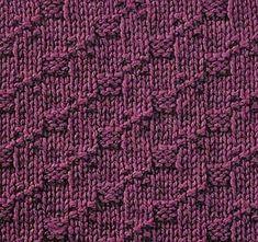 Knitting Galore: Saturday Stitch: Step Stitch