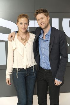 (L-R) Vita Gottlieb, Christopher Bailey Christopher Bailey, Breast, Suit Jacket, Suits, Jackets, Fashion, Down Jackets, Moda, Fashion Styles