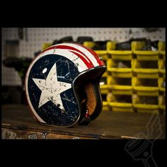 "Torc Route 66 T50 ""Rebel Star"" 3/4 Helmet (DOT Approved).  #motorcycle #biker #helmet"