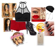 """""""AWW"""" by prettylittleliarsssss ❤ liked on Polyvore featuring IRO, Forever 21, Apt. 9, Jennifer Fisher and Closed"""