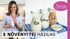 Zabtej I Kókusztej I Rizstej - egyszerű receptek - YouTube Glass Of Milk, Smoothie, Drinks, Youtube, Food, Drinking, Beverages, Essen, Smoothies