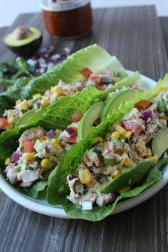 This tuna salad is the bomb. You can make it in 10 minutes and feel so good and light after eating it.
