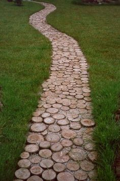 Repurposed for a lovely wooden path.