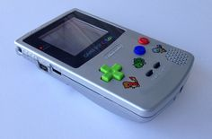 Custom Frontlit Nintendo Gameboy Color by 8BitAestheticsCom, $139.99