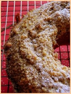 Walnut and Espresso Cake.  From Italian Baking Secrets, by Father Giuseppe Orsini. An easy one!
