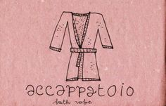 Learning Italian Language ~  Accappatoio (bath robe) IFHN