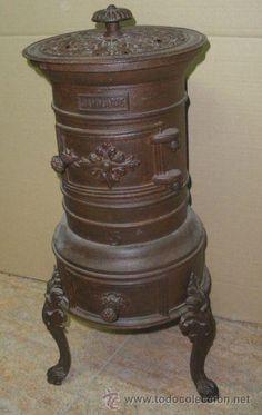 Antigua estufa de hierro a os 30 40 estufas pinterest - Estufa finlandesa ...