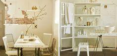 Cómo decorar en tonos dorados - http://www.decoora.com/decorar-tonos-dorados/