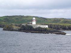 Rotten Island lighthouse - 54.615°N 8.441°W