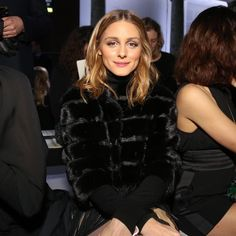 Olivia Palermo attends the Elie Saab Spring 2017 Couture Front Row on January 25, 2017 in Paris
