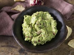 Nancy's Pomegranate Guacamole from Farmhouse Rules