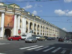 St. Petersburg - Peter the Great's European City in Russia: Gostiny Dvor Shopping Center in St. Petersburg, Russia