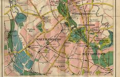 14 best maps of Walthamstow images on Pinterest   Cards  Maps and     Walthamstow Map    20s