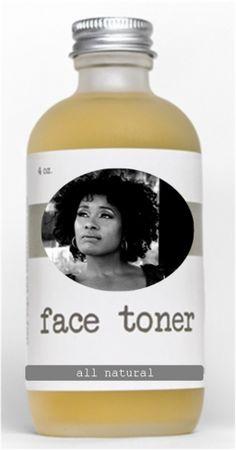 Lola's All-Natty Facial Toner - my favorite homemade toner, strong and effective