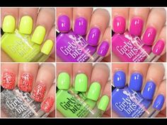 Girly Bits Hoop! There It Is Collection Swatch and Review  YouTube Available now