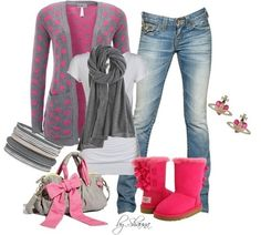 Wish | Super Cute Outfit With Pink Uggs