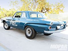 1962 Dodge Dart 440 sort of an early 60s Muscle car